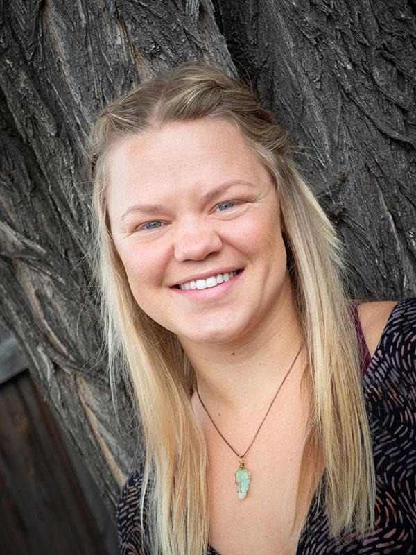 Jesse Jane Slater massage therapist at Halcyon Bodyworks in Bend Oregon